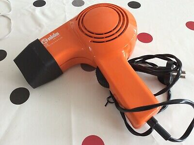 Sèche-Cheveux Orange Vintage Moulinex 220 V 600/1000W