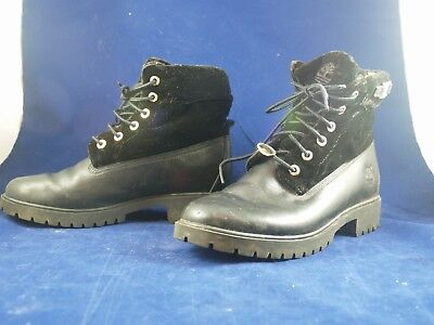 TIMBERLAND NELLIE WOMENS Grey Nubuck Short Lace Up Work Boot