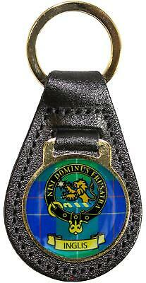 Argyll and Sutherland Highlanders 25mm simulated leather key fob