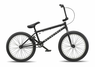 "We The People 2019 Arcade 21 Matte Black Complete Bmx Bike 21"" Matt Bikes S&M"