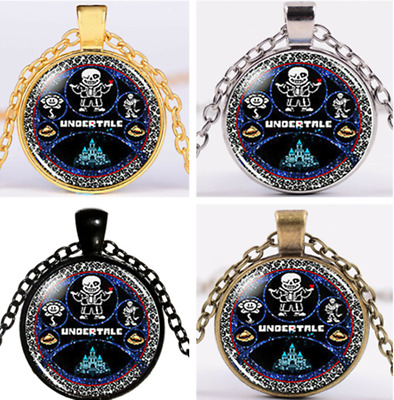 UNDERTALE figure series Chain Pendant wonderful Necklace Children Necklace UK