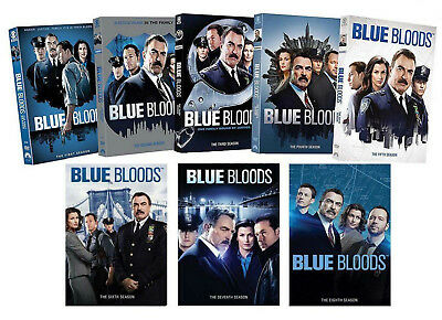 Blue Bloods: Season 1-8 Complete TV Series DVD Set 1 2 3 4 5 6 7 8 Brand New Set