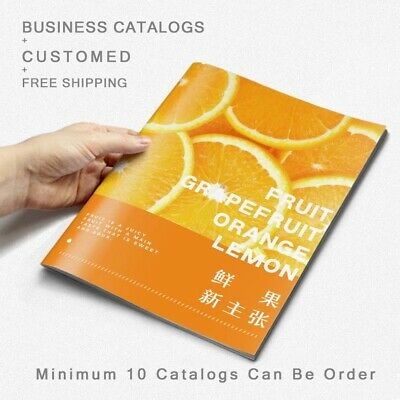 10 Company Business Catalogs Brochure Pamphlet Customed Printing Free Shipping