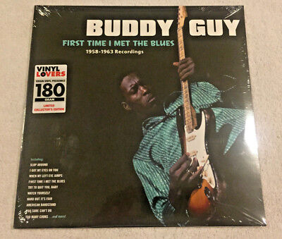 """BUDDY GUY: """"First Time I Met the Blues"""":NEW 180g LP REISSUE: 17 REMASTERED SONGS"""