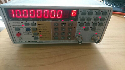 Racal-Dana 1991 nanosecond Universal Counter Timer Racal Dana 160MHz Frequency