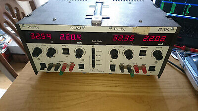 Thurlby PL320 Dual Quad Mode Linear Power Supply PSU 30v 2A x2 (60v 2A / 30v 4A)