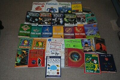 Childrens & Young Adults Book Collection Flanimals, Skulduggery, Alex Rider.