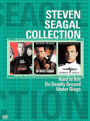 Steven Seagal New Collection 3 - Pack (DVD, 2004, 3-Disc Set)