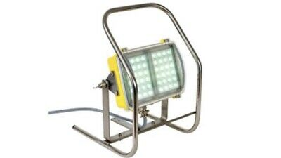 NEW Wolf 240v ATEX / IECEx LED Floodlight With Stainless Steel Mount And Tripod
