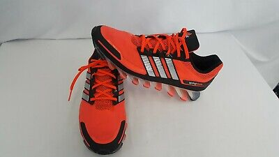 huge selection of ea85e 7991d ADIDAS ADIPOWER TECHFIT Springblade Red/Orange Running Shoes Men's Size 14