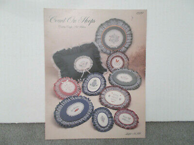 1984 Count on Hoops Country Crafts Counted Cross Stitch Pattern Leaflet No. 88