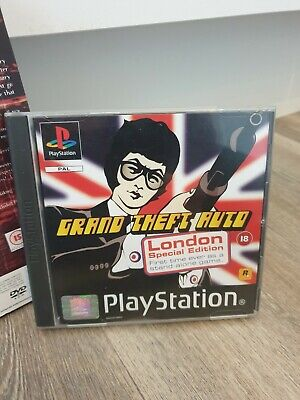 grand theft auto london special edition ps1