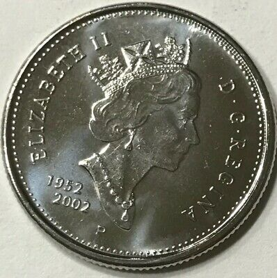 Canada 2003 P New Effigy 25 cents UNC from roll BU Canadian Caribou Quarter