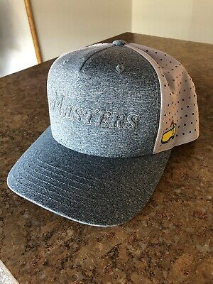 af2b6406 2019 MASTERS (NAVY/GREY) TECH TRUCKER Golf HAT from AUGUSTA NATIONAL