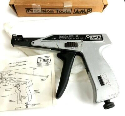 Amp Crimper Hand Tool 350450-1 Cable Tie