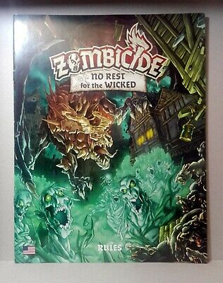 Rulebook ZOMBICIDE NO REST FOR THE WICKED (english) Black Plague / GREEN HORDE