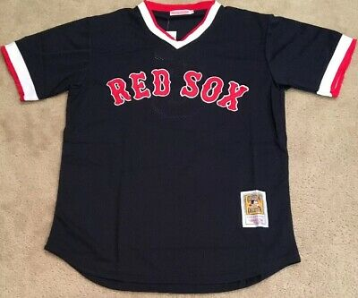 buy popular 40043 f9b22 TED WILLIAMS BOSTON Red Sox Retro Throwback Jersey Mens XL NWT Mesh