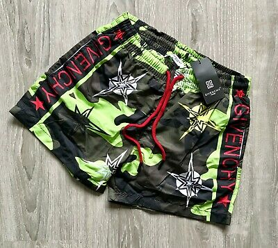 NEW GIVENCHY Men Swim Shorts Green Colour All Sizes