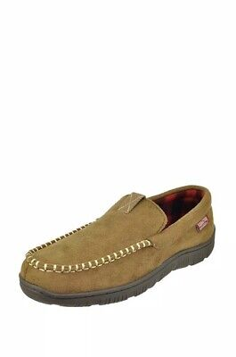 3cbb25e1 Levis Strauss Signature Memory Foam Moccasin Style Men's Slippers Small 7-8