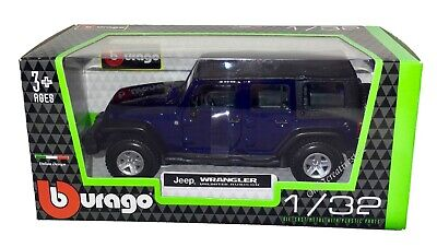 1:32 Scale Jeep Wrangler Rubicon China Police Diecast Model sound Light 4-Doors
