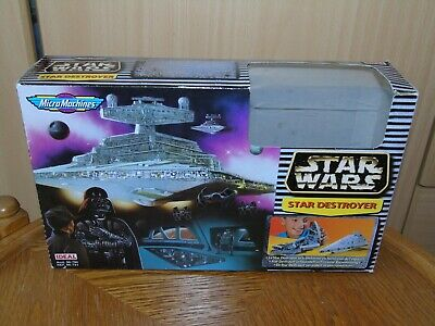 Galoob Micro Machines Star Wars Star Destroyer / Space Fortress Transforming Set