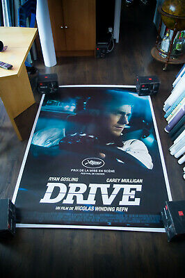 DRIVE RYAN GOSLING 4x6 ft French Grande Rolled Movie Poster Original 2011