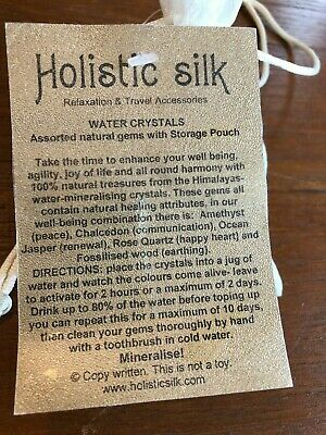 Holistic Silk Water Crystals