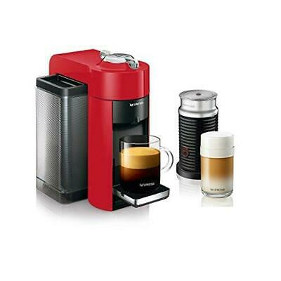 Nespresso Vertuo Evoluo Coffee and Espresso Machine with Aeroccino by De'Longhi,