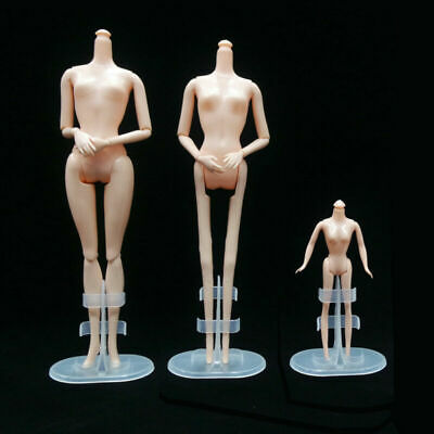 Plastic Display Accessories 5 Pcs Support Stand Holder For Doll Fashion Toy