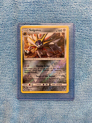 Collectible Card Games Solgaleo 87/145 SM Guardians RIsing Rare HOLO NM/MINT Pokemon Card Theme Excl