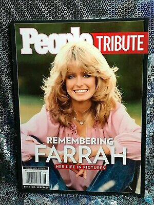 "Vintage PEOPLE TRIBUTE ""REMEMBERING FARRAH"" 2009 edition BRAND NEW!"