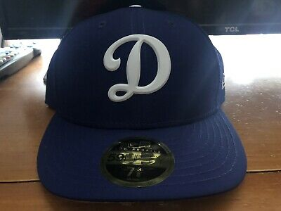 1115c7a4 Los Angeles Dodgers Batting Practice Low Profile New Era 59FIFTY Hat 7 3/8