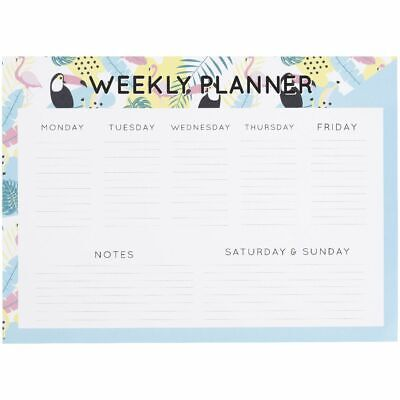 Otto Tropical A4 Weekly Planner 30 Sheets