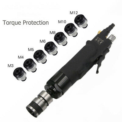 Torque Protected Pneumatic Tapping Machine Air Tapper Hand Tool 200rpm & M3~M12