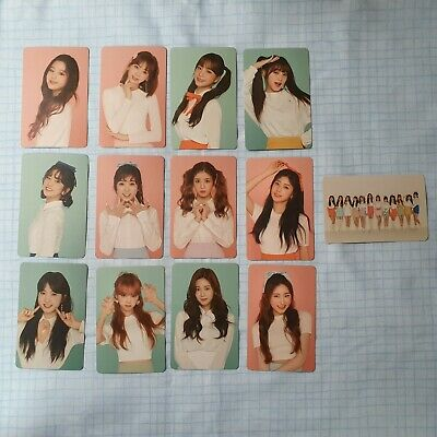 IZ*ONE IZONE Color*IZ official photocard * choose urs