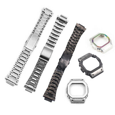 High-end 316L Stainless Steel Band+Case For G-shock DW-5600E DW-5600B G-5600E