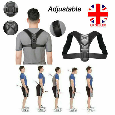 Body Shape Wellness Posture Corrector Adjustable Shoulder Back Support Belt Vest