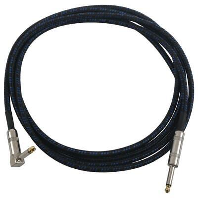 3X(Guitar Cable for Bass Keyboard Instrument Professional 1/4inch (6.3mm) St O1)