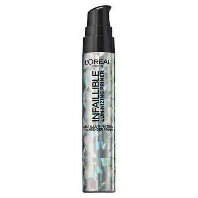 L'Oreal Infallible LUMINIZING Primer 20ml - Free Shipping