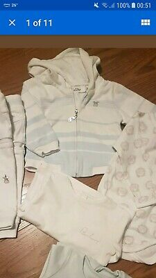 lote ropa bebe Burberry Baby Dior 3-9 meses