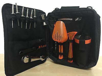 Bag Barman -bartending Bag Kit Barman Top Neon Orange