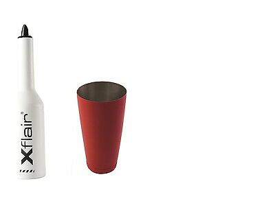 Flair Bottle Kit with White Tin Boston 28oz Balanced Red
