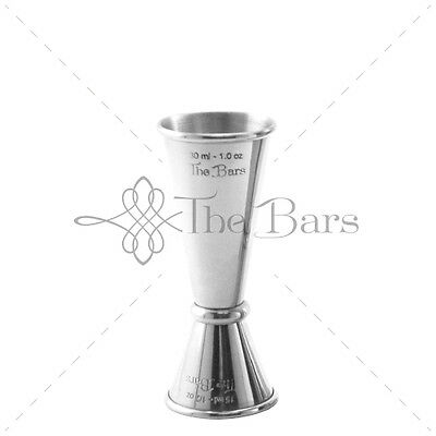 Jigger Measuring Stainless Barman 15ml-30ml J010