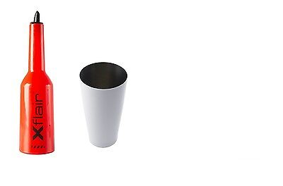 Flair Bottle Kit Red with Tin Boston 28oz Balanced White