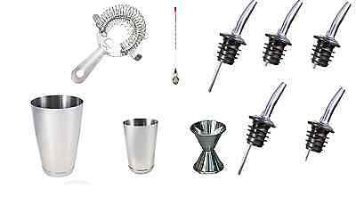 Kit Bartender 11 Pieces Tools Barman-Shaker
