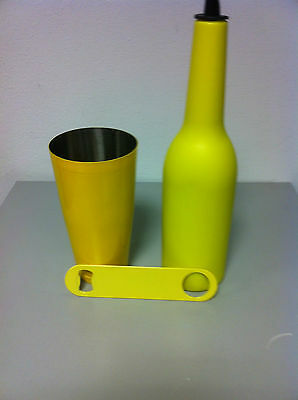 Flair Bottle Bottle Opener Yellow Coloured Barman Bartender Tools