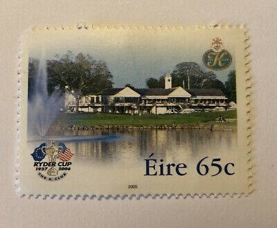 Ryder Cup 1927-2006 Postage Stamp Eire 65c The K Club 18th Hole