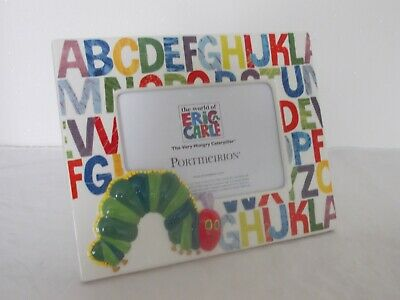 The Very Hungry Caterpillar  Portmeirion Easel Backed Photo Frame Eric Carle