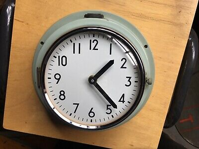 Vintage Industrial Reclaimed Salvaged Citizen Ship Wall Clock - Marine Salvage