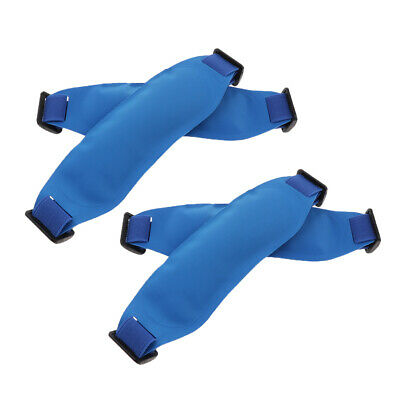 4x PVC Ice Pack Reusable Gel Bead Cold Ice Bag Wrap for Fever Cooling Sprain